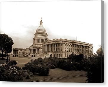 United States Capitol, Washington, D.c, Capitols Canvas Print by Litz Collection