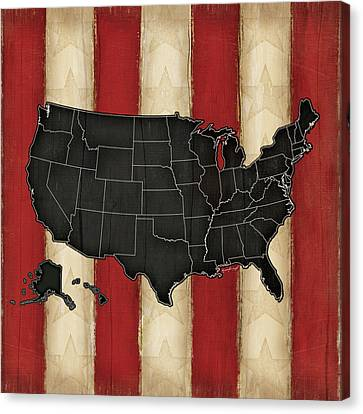 United States Canvas Print