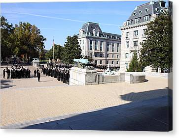 United States Naval Academy In Annapolis Md - 121225 Canvas Print by DC Photographer