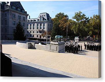 United States Naval Academy In Annapolis Md - 121227 Canvas Print by DC Photographer