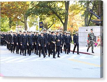 Academy Canvas Print - United States Naval Academy In Annapolis Md - 121240 by DC Photographer
