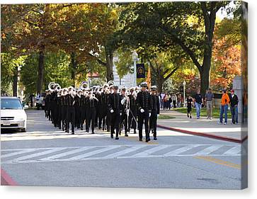 Academy Canvas Print - United States Naval Academy In Annapolis Md - 121242 by DC Photographer