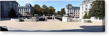 United States Naval Academy In Annapolis Md - 121278 Canvas Print by DC Photographer