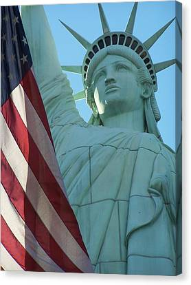 United States Of America Canvas Print