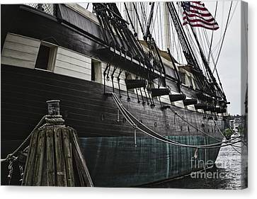 United States Ship Constellation Canvas Print by George Oze