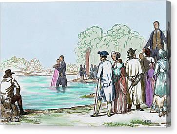 United States Virginia Anabaptist Canvas Print by Prisma Archivo