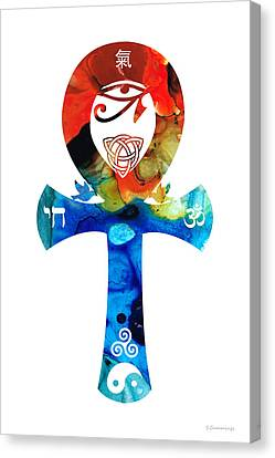 Unity 16 - Spiritual Artwork Canvas Print by Sharon Cummings
