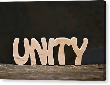 Unity Canvas Print by Donald  Erickson
