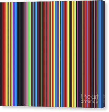 Unity Of Colour Canvas Print by Tim Gainey