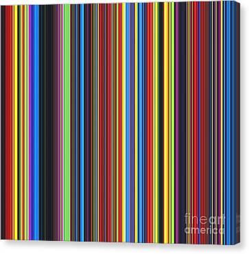 Unity Of Colour Canvas Print