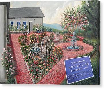 Unity Rose Garden  Canvas Print by Kenneth Stockton