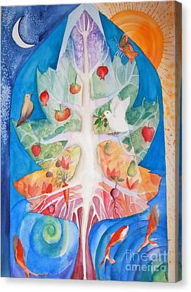 Unity Canvas Print by Shirin Shahram Badie