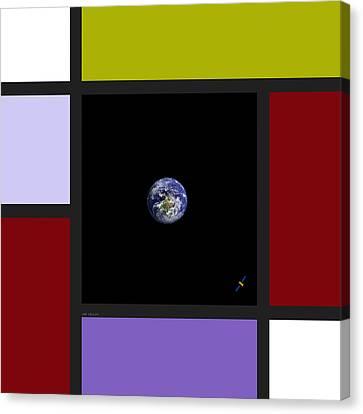 Universal Digital Art 5 Canvas Print