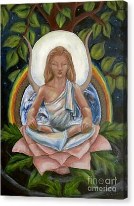 Universal Goddess Canvas Print