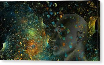 Universal Mind Canvas Print by Betsy Knapp