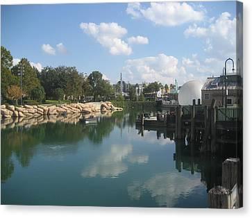 Universal Orlando Resort - 121227 Canvas Print