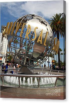 Universal Studios Hollywood California 5d28468 Canvas Print by Wingsdomain Art and Photography