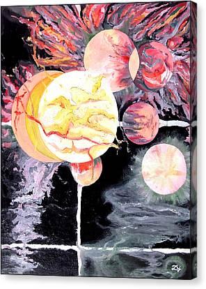 Universe Canvas Print by Daniel Janda