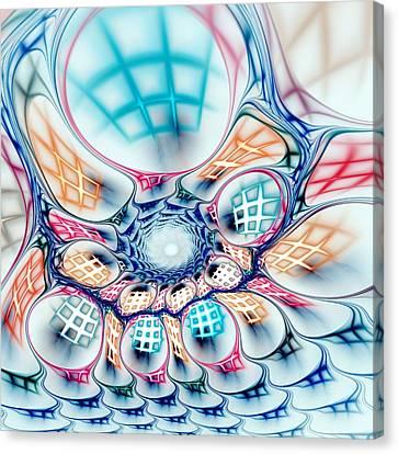 Together Canvas Print - Universe In A Bag by Anastasiya Malakhova