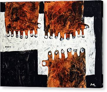 Universi No. 6 Canvas Print by Mark M  Mellon