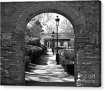 Canvas Print featuring the photograph University Garden by Cendrine Marrouat