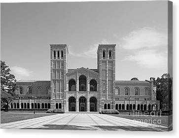 University Of California Los Angeles Royce Hall Canvas Print by University Icons