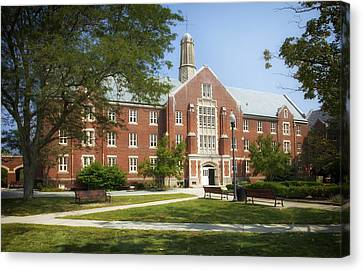 Uconn Canvas Print - University Of Connecticut Campus by Mountain Dreams