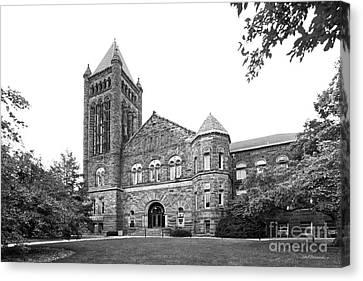 University Of Illinois Altgeld Hall Canvas Print by University Icons