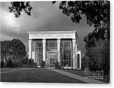 University Of Illinois Kinkead Pavilion Canvas Print by University Icons