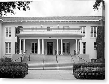 University Of La Verne Miller Hall Canvas Print by University Icons