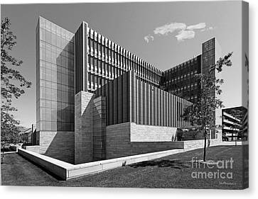 University Of Michigan Ross School Of Business Canvas Print by University Icons