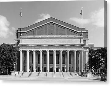 University Of Minnesota Northrop Auditorium Canvas Print by University Icons