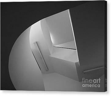 University Of Minnesota Stairwell Canvas Print by University Icons