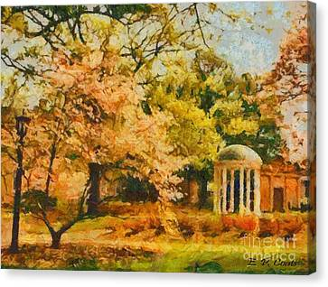 University Of North Carolina  Canvas Print