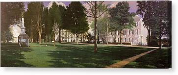 University Of South Carolina Horseshoe 1984 Canvas Print
