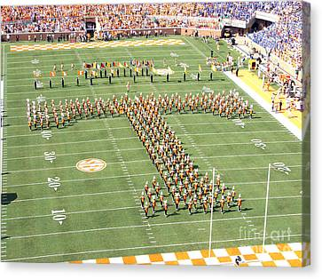 University Of Tennessee Band T  Canvas Print