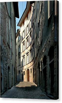 Unknown Artist, Citt Alta - Bergamo Canvas Print by Everett