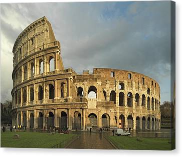 Unknown Artist, Flavian Amphitheatre Or Canvas Print by Everett