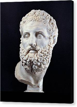 Unknown Artist, Head Of Heracles, 2nd Canvas Print by Everett