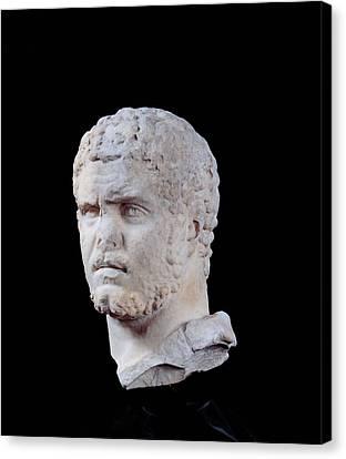 Unknown Artist, Portrait Of Caracalla Canvas Print by Everett