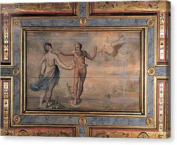 Unknown Artist, Proteus And Thetis Canvas Print by Everett