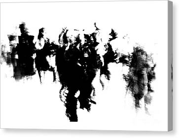 Canvas Print featuring the photograph Unlock The Unconscious Mind by Danica Radman