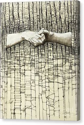 Canvas Print - Unravel #3 by Andrea Benson