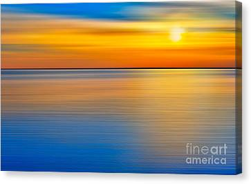 Unseen Sunset - A Tranquil Moments Landscape Canvas Print