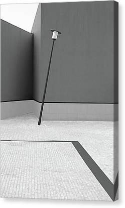 Lamp Post Canvas Print - Unstable Balance by Olavo Azevedo