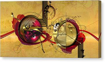Unstable Stability Canvas Print by Franziskus Pfleghart