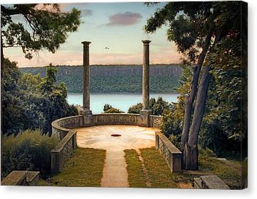 River View Canvas Print - Untermyer Vista by Jessica Jenney