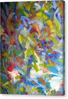 Untitled #1 Canvas Print by Steven Miller