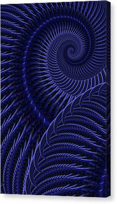 Untitled 12/16/2011 Canvas Print by Matt Lindley