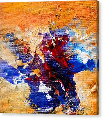 Untitled 19 Canvas Print by Sanjay Punekar